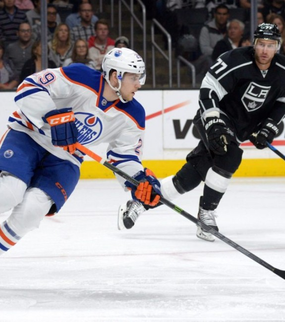 (Kirby Lee-USA TODAY Sports) Leon Draisaitl got thrown into the deep end as a rookie last season and struggled to stay afloat. He'll be better prepared this time around, and Todd McLellan is a better coach to ensure he's put in the best possible situation for success. To start the pre-season, that's on a soft-minutes third line with Anton Lander and Nail Yakupov on the Edmonton Oilers.