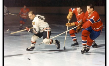 50 Years Ago in Hockey - Hawks and Habs in Wild Stalemate
