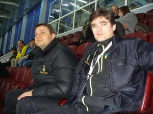 Oleksandr Maiko and Oleksandr Godynyuk