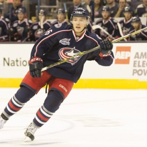 Marko Dano headlines the return for the Chicago Blackhawks (Greg Bartram-USA TODAY Sports)