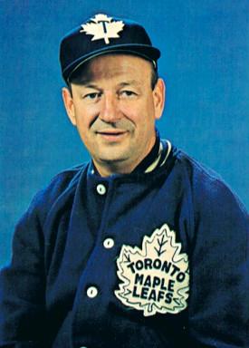 Punch Imlach, Toronto Maple Leafs, NHL, Hockey