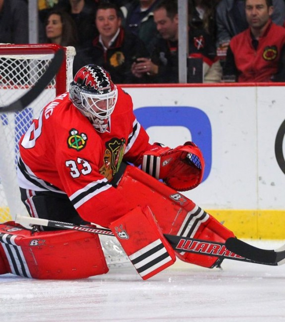 Scott Darling Chicago Blackhawks