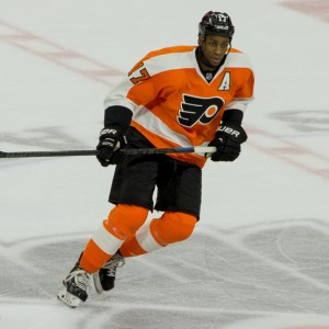 Philadelphia Flyers Forward Wayne Simmonds