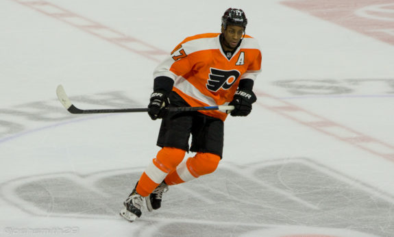 Despite a pair of goals from forward Wayne Simmonds (above) in a 6-4 loss to New Jersey, can the Flyers withstand the treacherous month ahead?