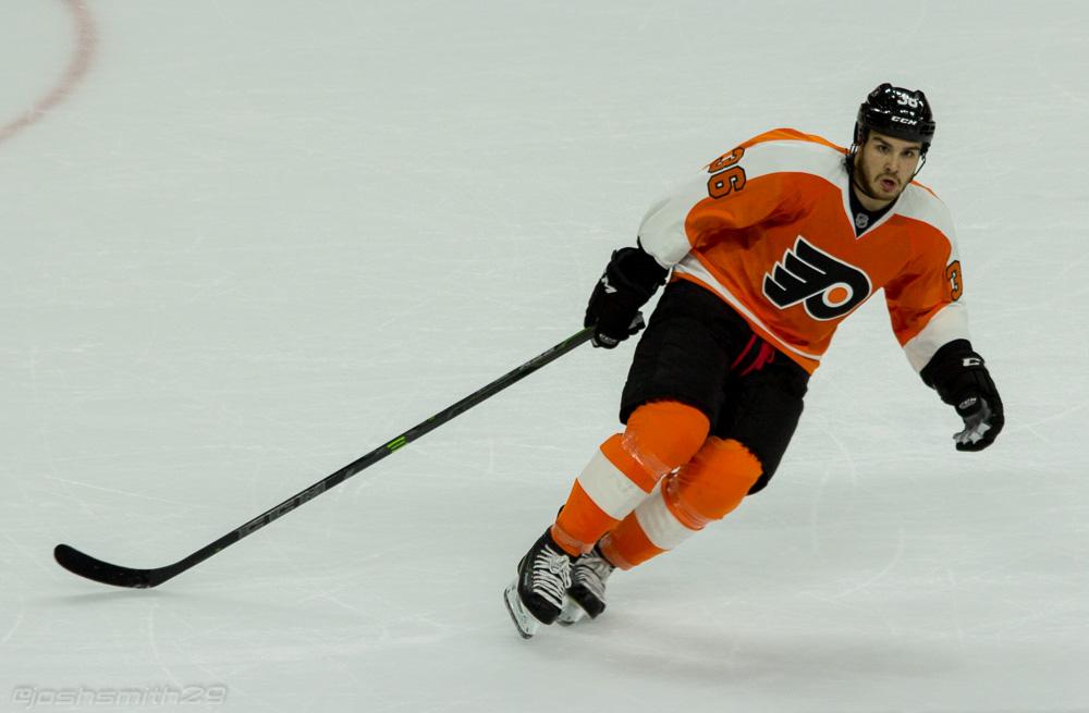 Philadelphia Flyers Forward Zac Rinaldo