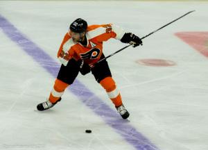 Philadelphia Flyers Defenseman Mark Streit