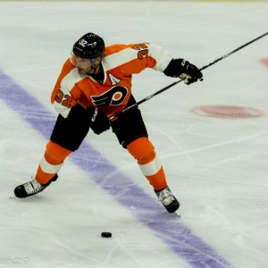 Philadelphia Flyers Defenseman Mark Streit