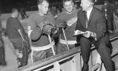 50 Years Ago in Hockey - Red Wings Clinch Title