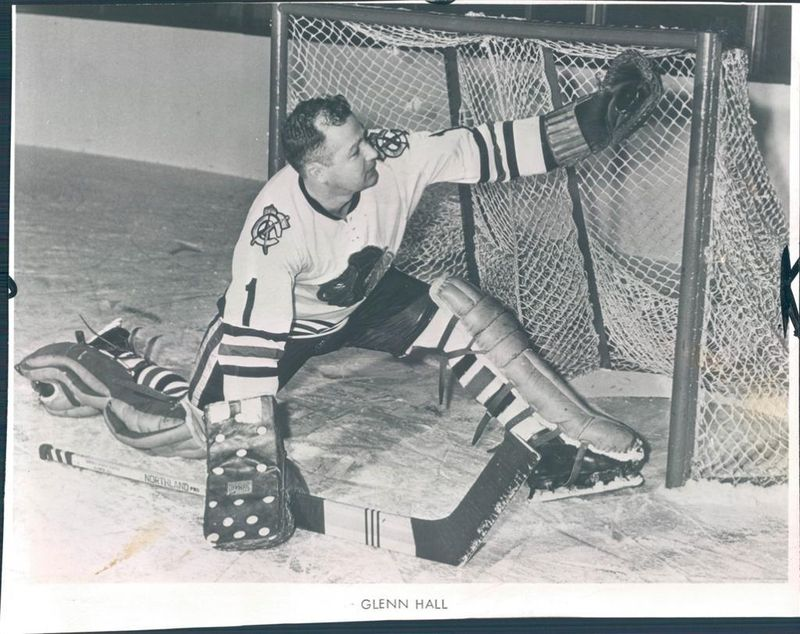 "Glenn ""Mr. Goalie"" Hall"