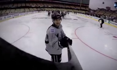 NHL Coverage Hits Ice Level with Helmet Cams