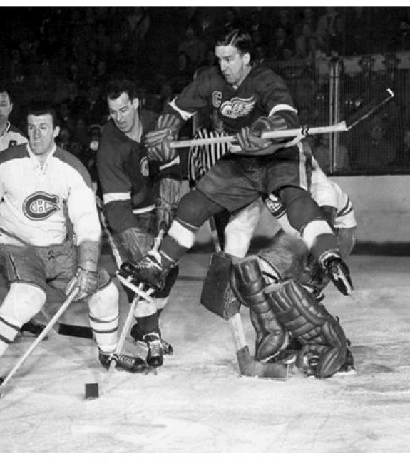 Ted Lindsay Gordies - best duo NHL