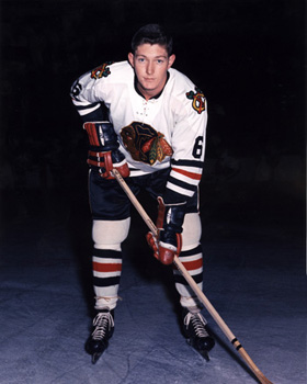 Fred Stanfield Black Hawks