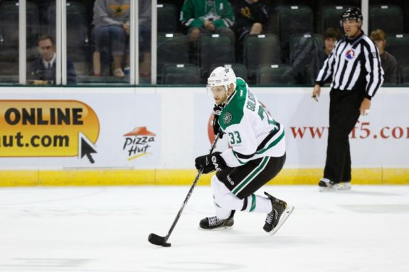 Alex Goligoski is coming off his best season as a pro. (Credit: Michael Connell/Texas Stars Hockey)