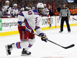 Anthony Duclair was loaned to Canada by the New York Rangers and had 8 points for the team. (Amy Irvin / The Hockey Writers)