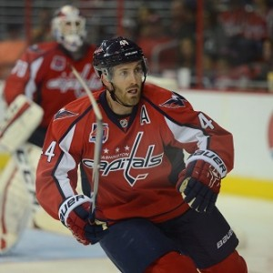 Orpik may not be a lock to be ready to play on opening night. (Tom Turk/THW)