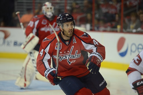 Brian MacLellan awarded Brooks Orpik with a five year contract last summer (Tom Turk/THW)