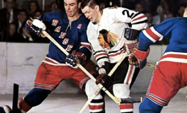 50 Years Ago in Hockey - Hawks Edge Rangers to End Streak
