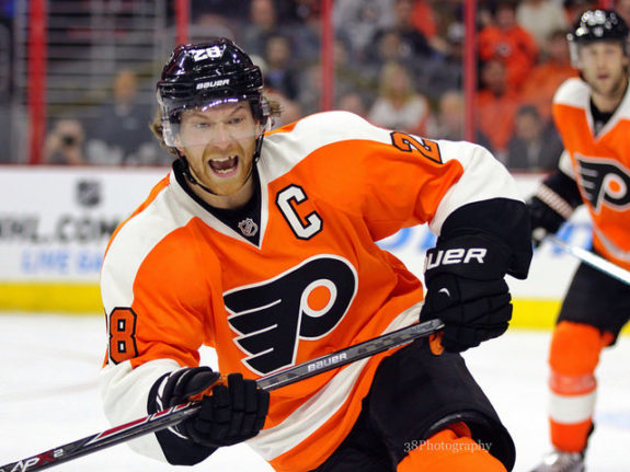 Avalanche Survival 101: Claude Giroux made up for lost time since scoring his last goal. The Flyers captain buried a pair of power play goals in Saturday night's 4-3 victory over the Colorado Avalanche.
