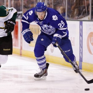 Connor Brown of the Toronto Marlies. Credit: Michael Connell/Texas Stars Hockey