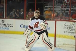 New Jersey Devils goalie Corey Schneider (Tom Turk/THW)