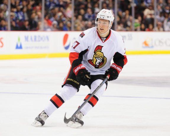 Curtis Lazar Ottawa Senators