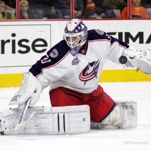 Curtis McElhinney Blue Jackets
