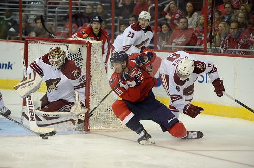 Capitals forward Eric Fehr (Tom Turk/THW)