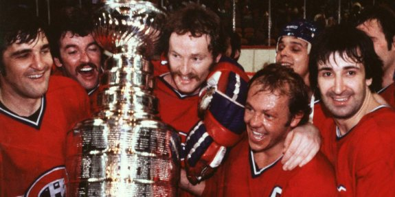 1970's Montreal Canadiens Win Stanley Cup