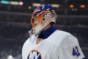 New York Islanders goalie Jaroslav Halak