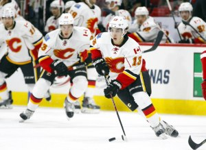 Calgary Flames forward Johnny Gaudreau