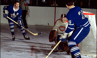 50 Years Ago in Hockey - Pulford's Pair Leads Leafs