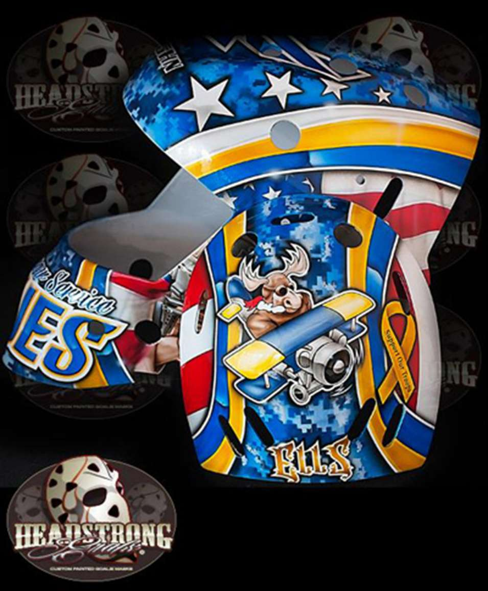Brian Elliott Veteran's Day Mask Final Design