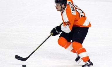 Laughton Leads Flyers past Senators 4-3