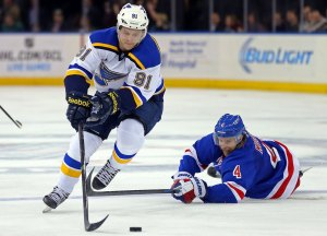 Tarasenko's line has led the Blues' offense all season (Adam Hunger-USA TODAY Sports) ultimate nhl roster