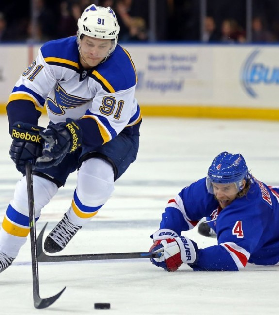 (Adam Hunger-USA TODAY Sports) Vladimir Tarasenko is probably a top-10 fantasy player these days, so if somebody is toying with the idea of trading him, do everything in your power to be on the receiving end. If that means a 2-for-1 or even a 3-for-1 deal, Tarasenko will be well worth it.