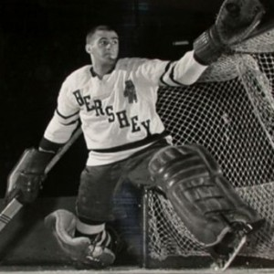 Claude Dufour of Hershey is the AHL first all-star goalie.