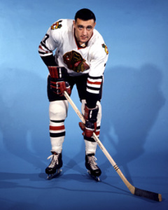 Phil Esposito, Hawks' top rookie.