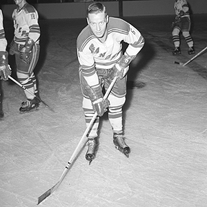 Pat Hannigan, shown here with the Rangers, had 38 goals with Buffalo last season.