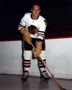 Bobby Hull's goal got Chicago rolling.
