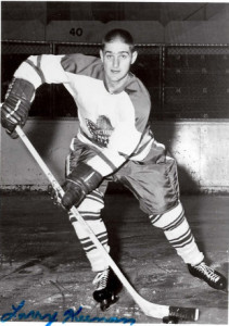 Punch Imlach named Larry Keenan of Victoria Maple Leafs as eligible for Toronto in NHL playoffs.