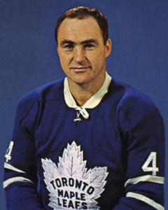 Red Kelly played every game for the Leafs.