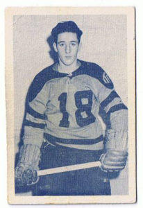 Danny Poliziani, shown here in his junior days with St. Catharines, scored 3 for Hershey.