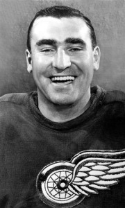Floyd Smith scored twice for the Red Wings