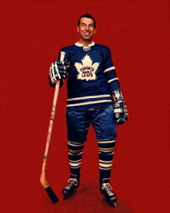 Ron Stewart scored twice for Toronto.