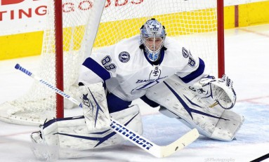 Budaj Injury Provides Opportunity for Lightning