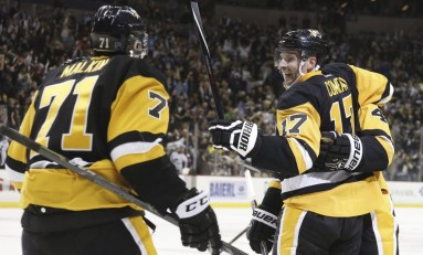 Perron, Pugilism and Puke: Penguins' Wildly Weird Week