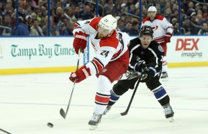 Brad Malone of the Carolina Hurricanes (Kim Klement-USA TODAY Sports)