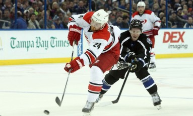 Brad Malone Shows Heart as Hurricanes Fall Again