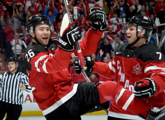 Curtis Lazar Team Canada