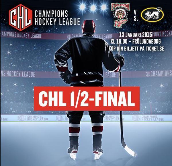 Champions Hockey League 2014-15 poster